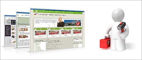 An instant site installer